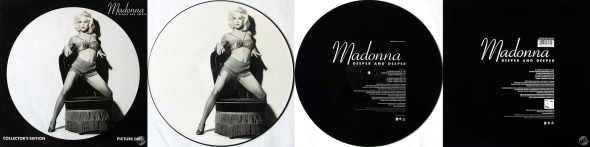 madonna deeper and deeper picture disc UK