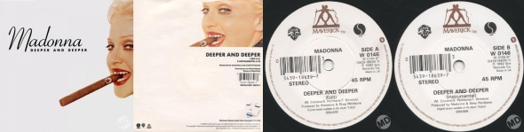 madonna deeper and deeper single 7 pulgadas UK