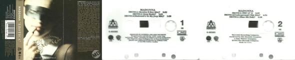 madonna erotica cassette single usa