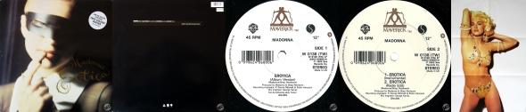 madonna erotica LP UK