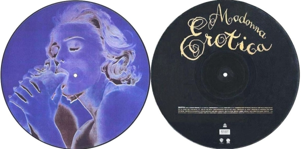 madonna erotica picture disc UK