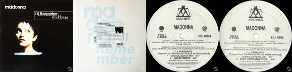 madonna ill remember single 12 pulgadas USA