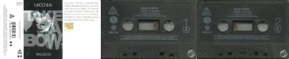 madonna take a bow cassette single UK