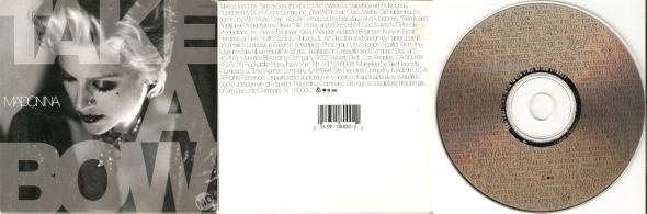 madonna take a bow cd single USA