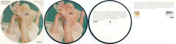 madonna take a bow limited edition picture disc UK
