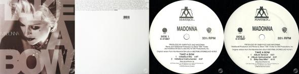 madonna take a bow single 12 pulgadas USA