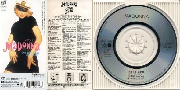 madonna bye bye baby cd single 3 pulgadas japon