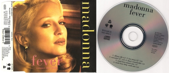 madonna fever cd single uk