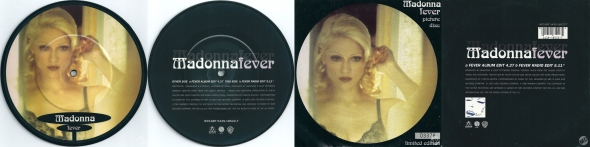 madonna fever picture disc