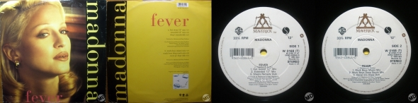 madonna fever single 12 pulgadas uk