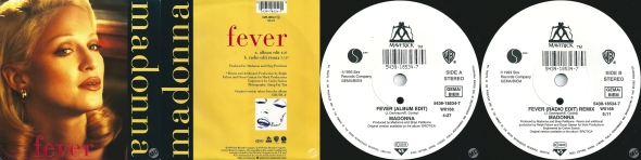 madonna fever single 7 pulgadas uk