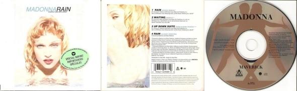 madonna rain cd maxi single canada