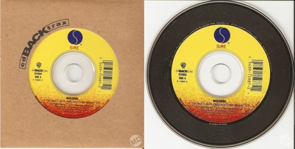 madonna this used to be my playground cd single backtrax USA