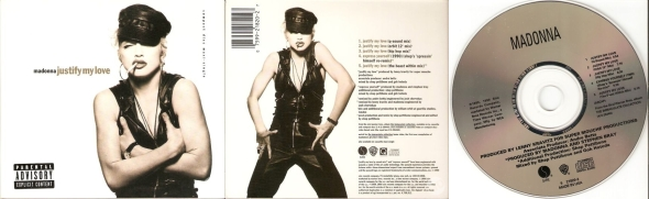 madonna justify my love cd maxi single usa