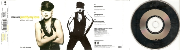 madonna justify my love cd single alemania