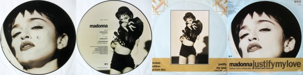 madonna justify my love picture disc uk