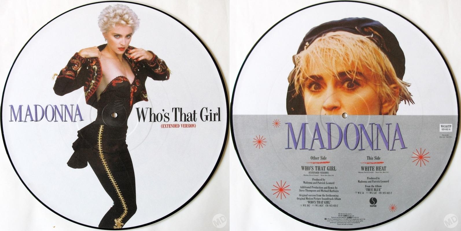Truth Or Dare Naked By Madonna  Alas  Piggott  Madonnaware-2405