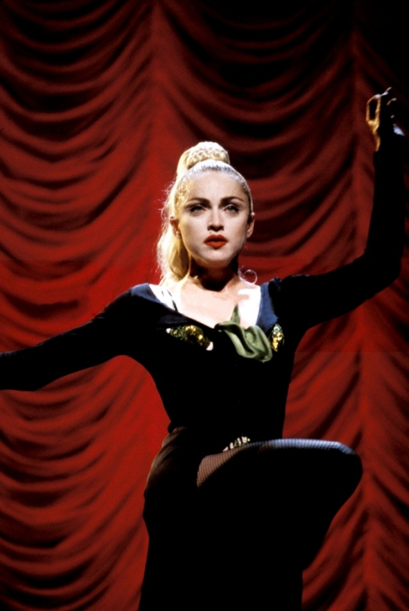 madonna sooner or later blond ambition
