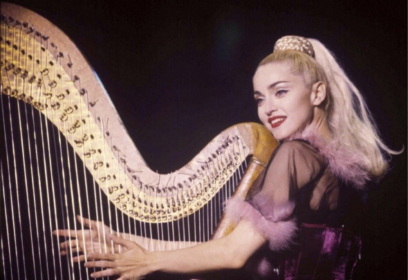 madonna cherish blond ambition