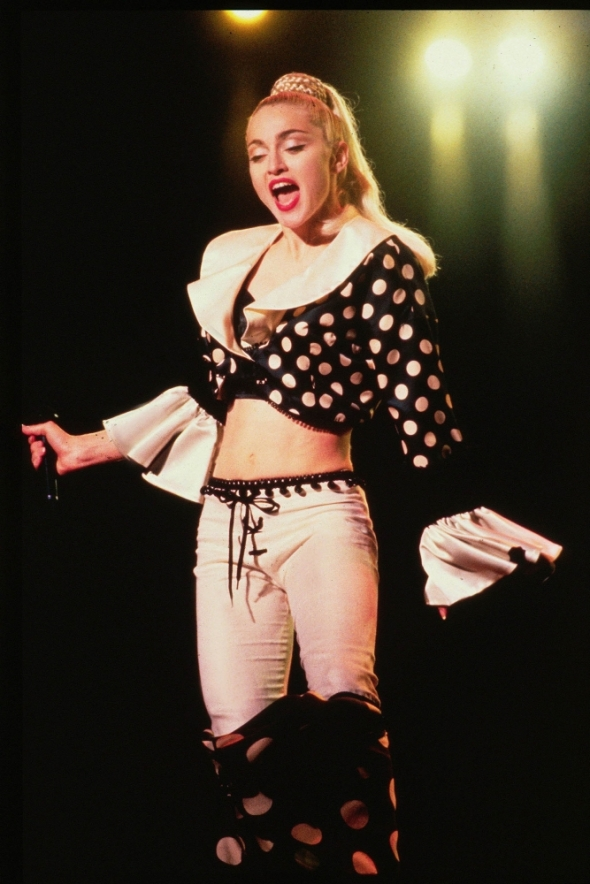 madonna holiday blond ambition