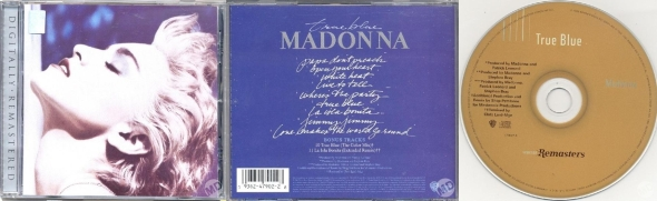 madonna true blue cd digitally remastered US