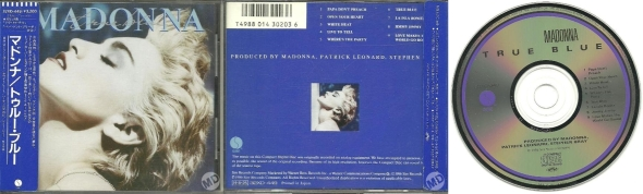 madonna true blue cd japon