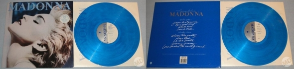 madonna true blue LP alemania