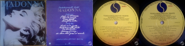 madonna true blue LP argentina