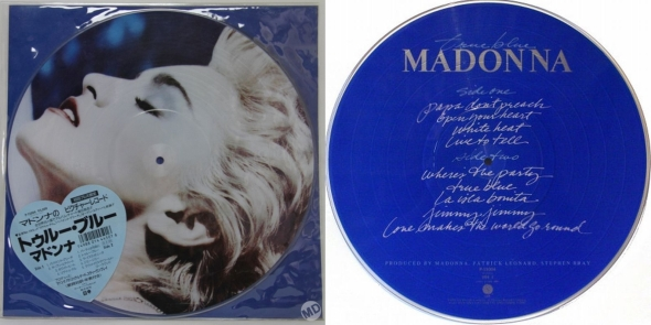 madonna true blue picture disc japon