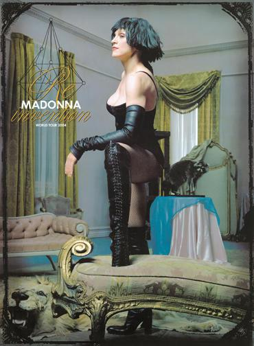 madonna re invention poster tour