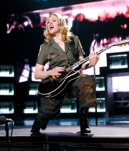madonna material girl re invention tour