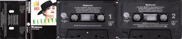 madonna la isla bonita cassette single