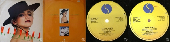 madonna la isla bonita single 12 pulgadas UK