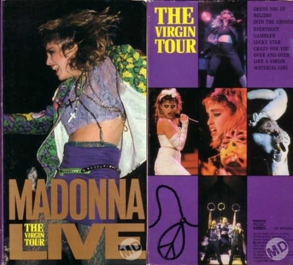 madonna live-the virgin tour