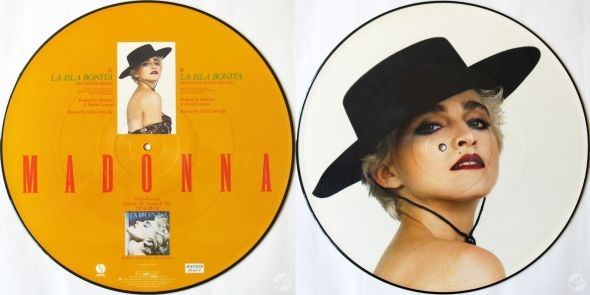 madonna ls isla bonita picture disc UK