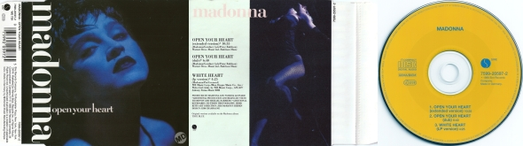 madonna open your heart cd single alemania