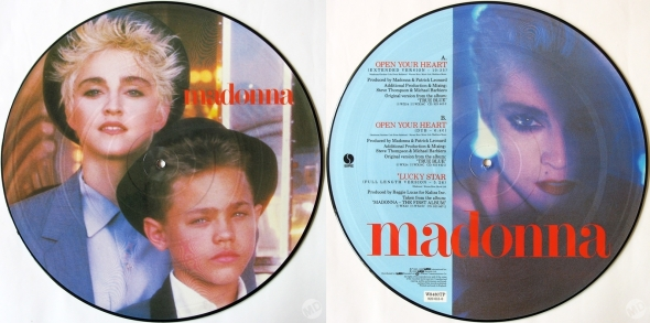 madonna open your heart picture disc uk