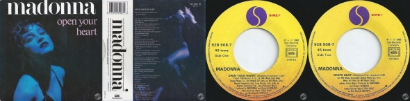 madonna open your heart single 12 pulgadas francia