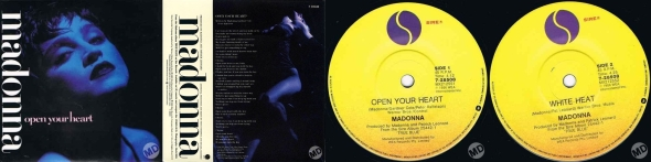 madonna open your heart single 7 pulgadas australia