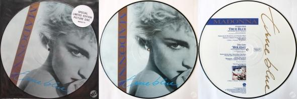 madonna true blue picture disc