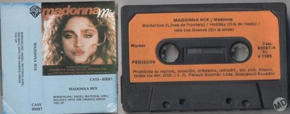 madonna super mix cassette