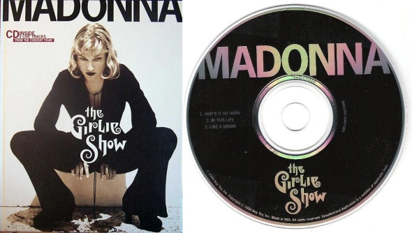 madonna the girlie show book EP