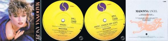 madonna angel australia 7 pulgadas