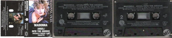 madonna angel cassette single canada