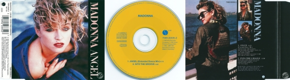 madonna angel cd single alemania