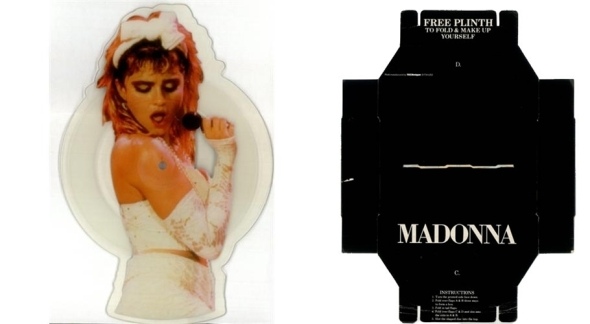 madonna angel picture shaped disc uk