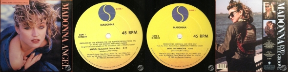 madonna angel single 12 pul usa