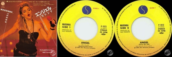 madonna angel single 7 pul japon