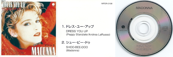madonna dress you up cd single 3 pulgadas japon