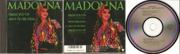 madonna dress you up cd single japon